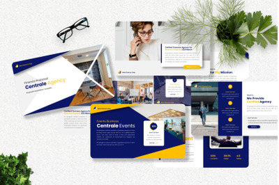 Centrale - Proposal Business Powerpoint Templates