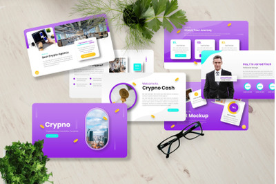 Crypno - Cryptocurrency Powerpoint Templates
