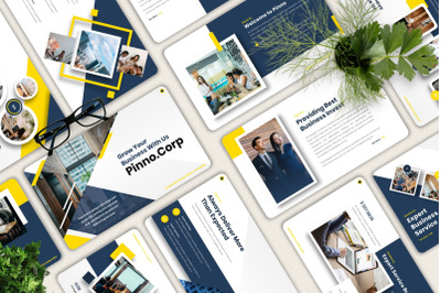 Pinno - Corporate Powerpoint Templates