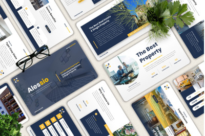 Alessio - Real Estate Powerpoint Template