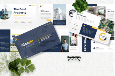 Alessio - Real Estate Googleslide Template