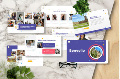 Benvolio - University Googleslide Template