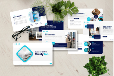 Cardy - Corporate Powerpoint Templates