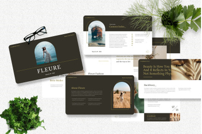 Fleure - Fashion Powerpoint Template
