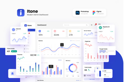 Itone - Modern and Dynamic Admin