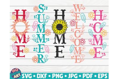 5 Summer Porch Signs SVG Bundle