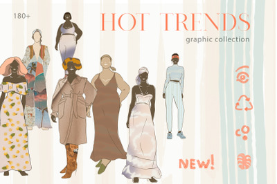 Hot Trend Fashion Look Creator. Blog Content, Themes Instagram