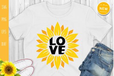 Sunflower Love, Sunflower Svg, Sunflower Quote Svg