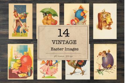 Vintage Easter, ephemera classics