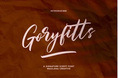 Goryfitts Signature Script Font