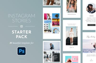 Instagram Stories Starter Pack - Photoshop