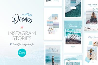 Instagram Stories Oceans Pack - Canva