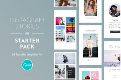Instagram Stories Starter Pack - Canva