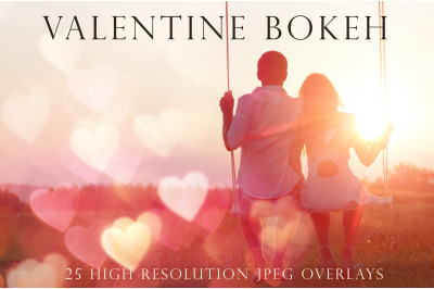 Valentine Bokeh overlays