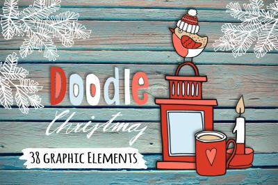 The Doodle Christmas set