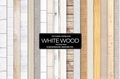 Rustic White Wood