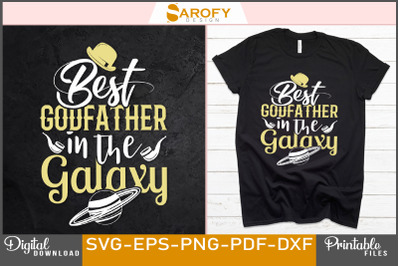 Grandfather t-shirt design for father's day svg sublimation