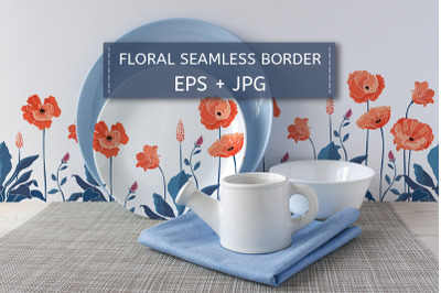 California poppy flowers, Eschscholtzia