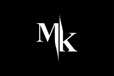 MK Monogram Logo V5