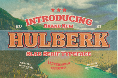 Hulberk - a Nostalgic Slab Serif