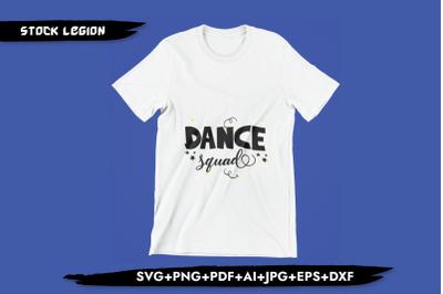 Dance Squad SVG
