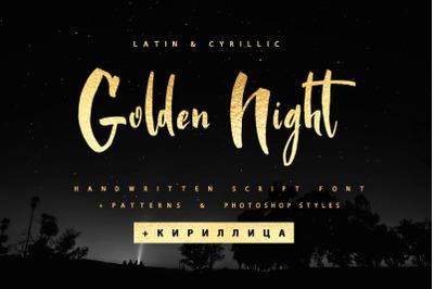 Golden Night Cyrillic & Golden Ps styles