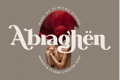 Abraghen | Ligature Serif