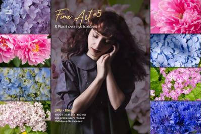 Fine Art Floral Natural Textures #5