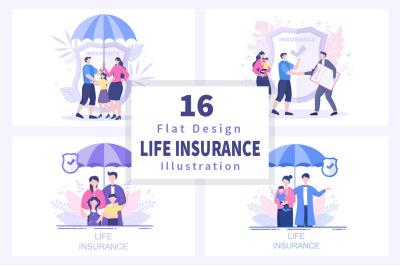 16 Life Insurance Illustration