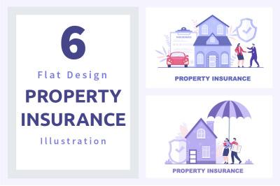6 Property Insurance Illustration