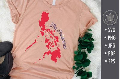 The Philippines map, Svg, Png