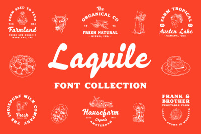 Laquile - Display Font