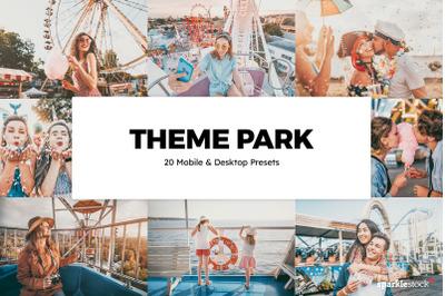 20  Theme Park LR Presets