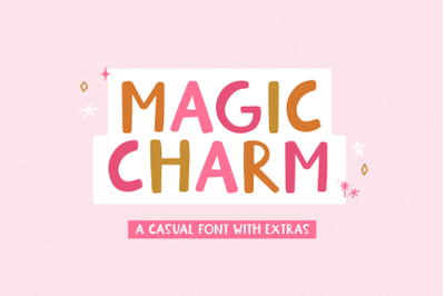 Magic Charm - Handwritten Font with Extras