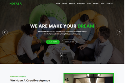 Hotasa Consulting & Business Template