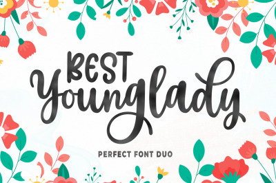 Best Younglady Font Duo