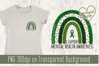 Mental Health Awareness PNG, Sublimation Design