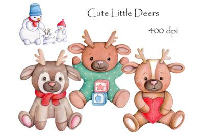 Cute little Deers.