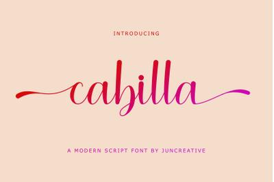 Cabilla Script