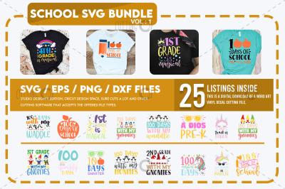 School Svg Bundle Vol 1