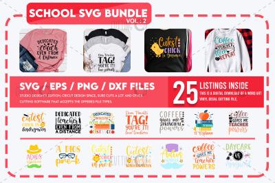 School Svg Bundle Vol 2