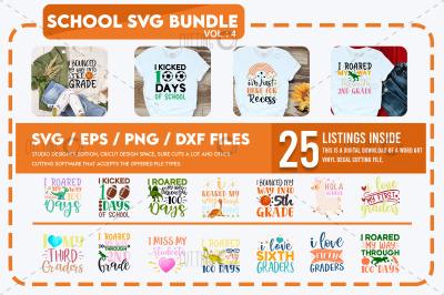 School Svg Bundle Vol 4