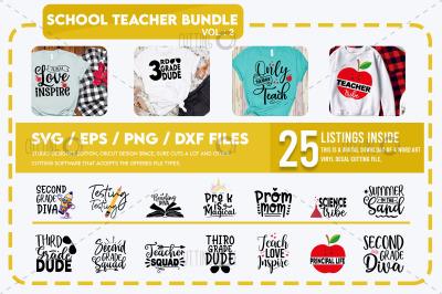 School teacher Svg Bundle 3 (2)