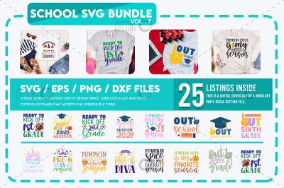School Svg Bundle Vol 7