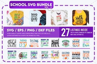 School Svg Bundle Vol 8