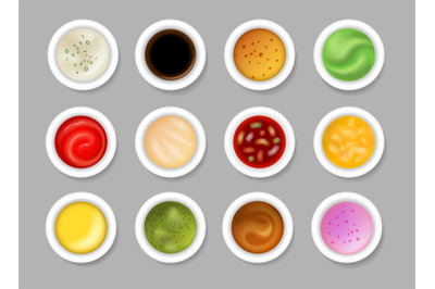 Tasty dip sauces