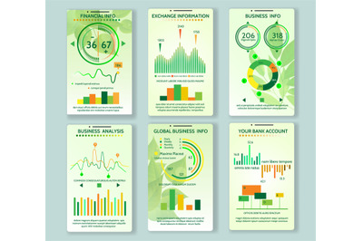 Ecology app mobile dashboard