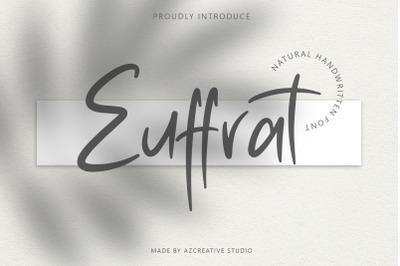 Euffrat - Simply Natural Handwritten