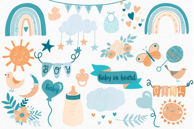 Baby PNG Clipart | Baby Sublimation | Baby illustrations