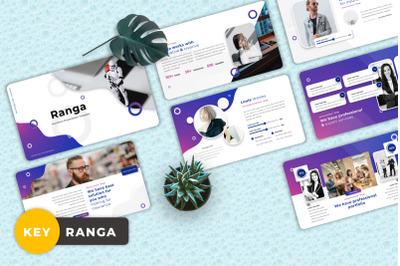 Ranga - Insurance Keynote Templates